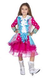 Carnavalsjas Jillian voor Kinderen - roze/blauw