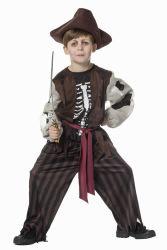 Kinderkostuum Piraat met Geraamte