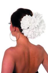 Haarclip Bloem - wit
