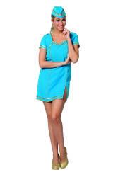 Stewardess Jurk voor Dames - aqua