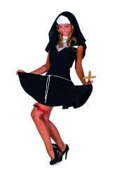 Sexy Non Kostuum voor Dames - zwart