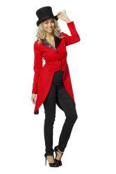 Slipjas voor Dames - rood/zwart