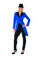 Slipjas voor Dames - blauw/zwart