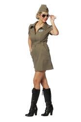 Piloten Jurk voor Dames - legergroen