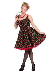 Rockabilly Dress Cherry