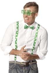 Set St. Patrick (bril/bretels/strik)
