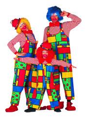 Clown Mondriaan Dameskostuum