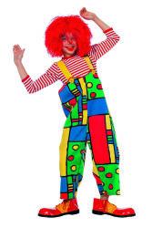 Kinderkostuum Clown Tuinbroek