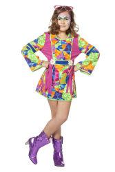 Hippie Jurkje voor Meisjes - Multikleur