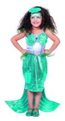 Kinderkostuum Zeemeermin - turquoise
