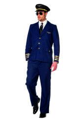 Piloten Pak voor Heren - donkerblauw