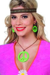 Sieraden Set Peace - groen