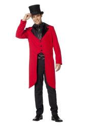 Slipjas voor Heren - rood/zwart