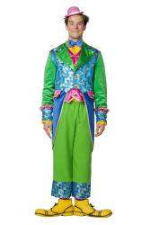 Luxe Clown Kostuum voor Heren - groen