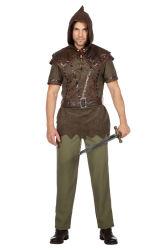 Robin Hood Kostuum voor Heren - bruin