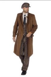 Peaky Blinders Luxe Overjas voor Heren - bruin