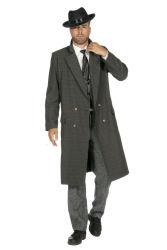Peaky Blinders Luxe Overjas voor Heren - grijs