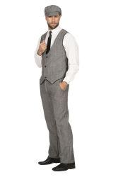 Peaky Blinders Thomas Kostuum voor Heren - grijs