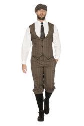 Peaky Blinders John Kostuum voor Heren - bruin