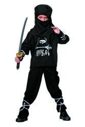 Ninja Kostuum voor Kinderen - zwart