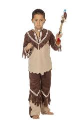Indiaan Cherokee Kostuum voor Jongens