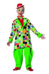 Kinderkostuum Clown voor Jongens - groen