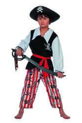 Piraat Schateiland Kostuum voor Kinderen