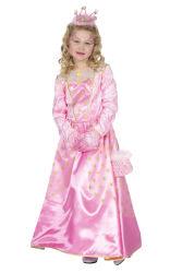 Prinsessenjurk Ster - roze