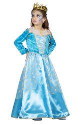 Prinsessenjurk Ster - blauw
