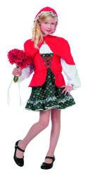 Kinderkostuum Roodkapje Luxe