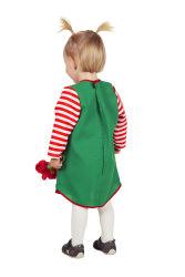 Babykostuum Pippi Gestreept - groen