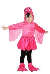 Roze Struisvogel Kostuum voor kinderen