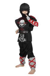 Kinderkostuum Ninja Doodskop - zwart