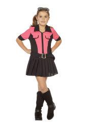 Politie Kostuum voor Meisjes - roze