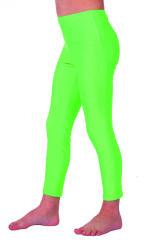 Legging voor Kinderen - neon groen