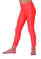 Legging voor Kinderen - neon oranje