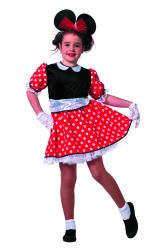 Minnie Mouse Modern Kostuum voor Kinderen