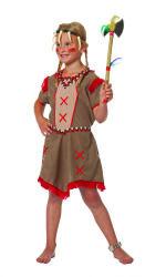Kinderkostuum Indiaan Minnehaha - bruin