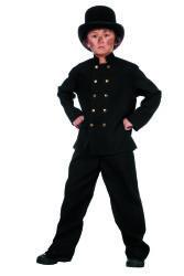Schoorsteenveger Kostuum voor Kinderen - zwart
