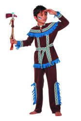 Indiaan Tenderfoot Kostuum voor Jongens