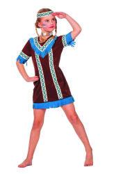 Indiaanse Tenderfoot Kostuum voor Meisjes