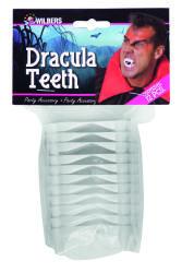 Dracula tanden (12st.in plastic zak)