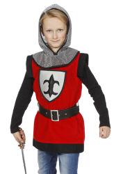 Stoer Ridder Kostuum voor Kinderen - rood/zwart