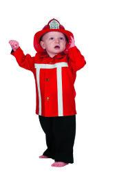 Babykostuum Brandweer - rood