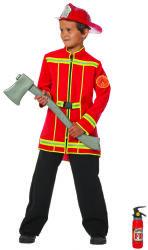 Brandweerjas voor Kinderen - rood