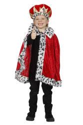 Cape Koning voor Kinderen - rood