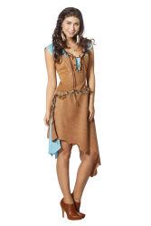 Indiaan Arapaho Kostuum voor Dames - bruin