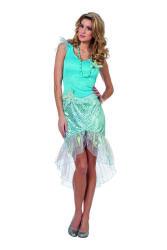 Zeemeermin Kostuum voor Dames - turquoise