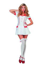 Dameskostuum Verpleegster met Plooirokje