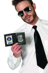 ID met badge police